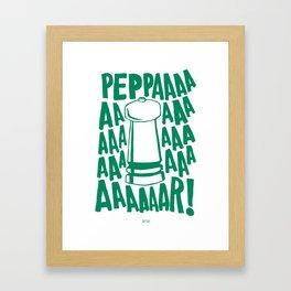PEPPAR! Framed Art Print