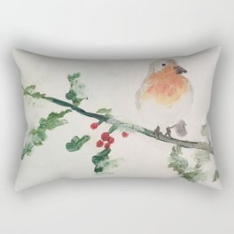 Snowbird Rectangular Pillow