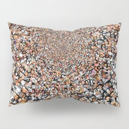 """The Work 3000 Famous and Infamous Faces Collage Pillow Sham"