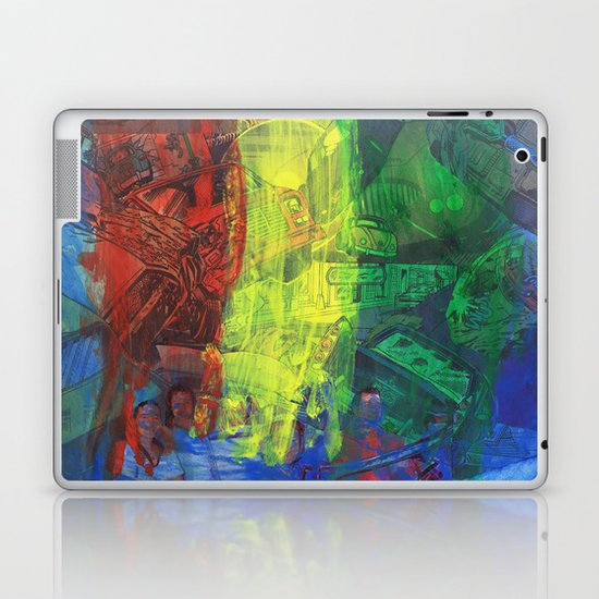 """Move Like This"" by Cap Blackard Laptop & iPad Skin"