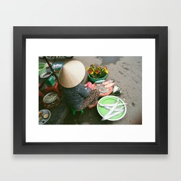 Hoi An Market Framed Art Print