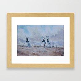 Aho  Framed Art Print