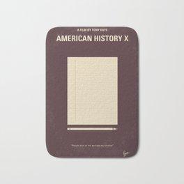 No247 My AMERICAN HISTORY X minimal movie poster Bath Mat