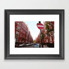 london calls Framed Art Print