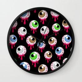 Eyes II Wall Clock