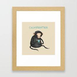 Chimpantea Framed Art Print