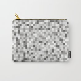 8bit texture Carry-All Pouch