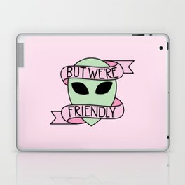 We Are Friendly (Pink) Laptop & iPad Skin