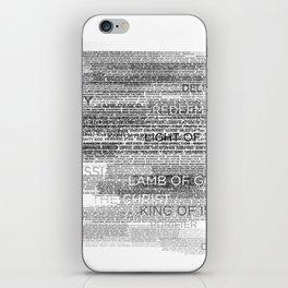 Names of God iPhone Skin