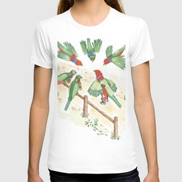 Birds of a Feather Flocking Together T-shirt