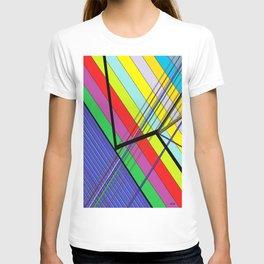 Diagonal Color T-shirt