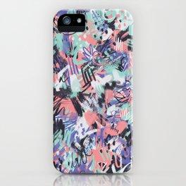 Aquarius - Paint Splatters iPhone Case