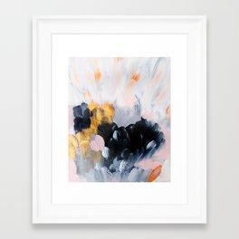 formation: bliss Framed Art Print