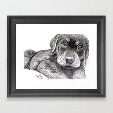 Black and White 8 Framed Art Print