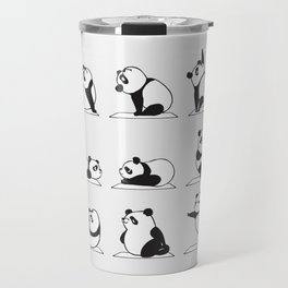 Panda Yoga Travel Mug