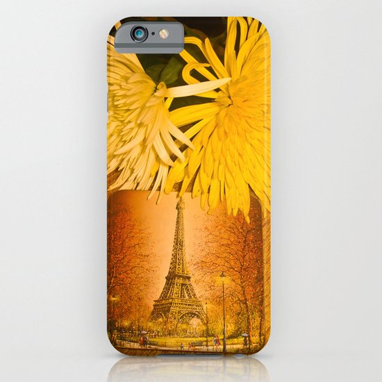 PARIS YELLOW iPhone & iPod Case