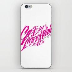 Gettin Jiggy With It iPhone & iPod Skin