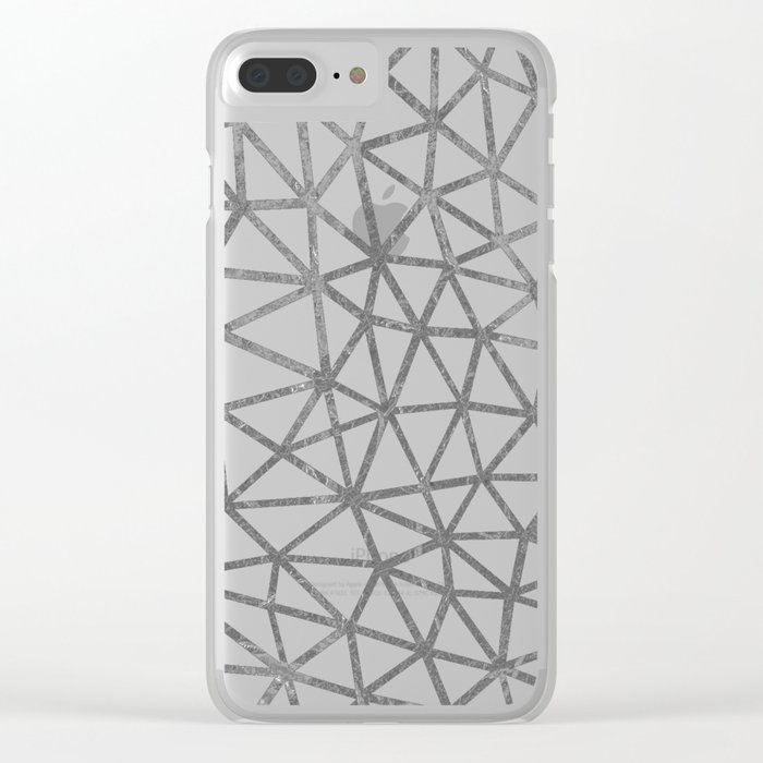 Seg Marble Clear iPhone Case