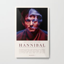 Hannibal - Season 1 Metal Print