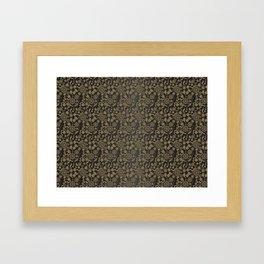 Heart Attack pattern2 Framed Art Print