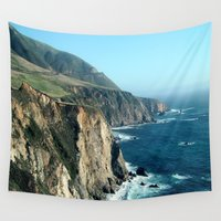 california Wall Tapestries featuring California by NatalieBoBatalie