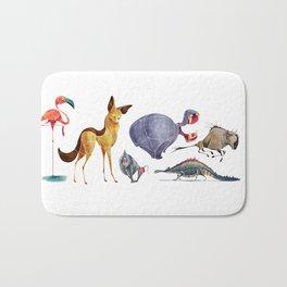 African animals 3 Bath Mat