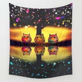 owl new colour 126 Wall Tapestry