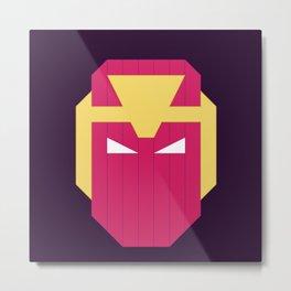 Baron.Zemo Metal Print