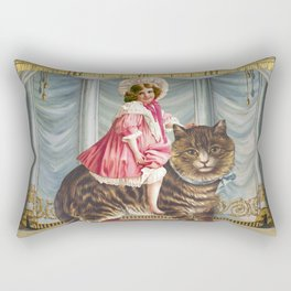 The amazing Catgirl Rectangular Pillow