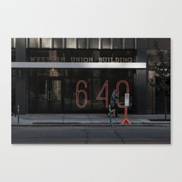 That's how many times. Canvas Print