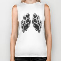 lungs Biker Tanks featuring Lungs by Sushibird