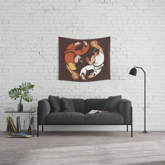 Super Yin Yang Wall Tapestry