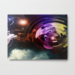 """""""Above The Clouds"""" Metal Print"""