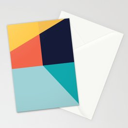 Colorful pattern XI Stationery Cards