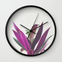 Boat Lily Wall Clock