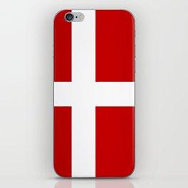 Flag of Denmark iPhone Skin