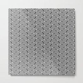 Op Art 149 Metal Print