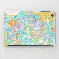 dragons iPad Cases featuring Dragons by Nick Bright