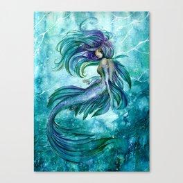 Sea current Canvas Print