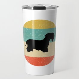 Cesky Terrier Dog Gift design Travel Mug