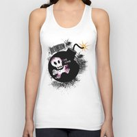 all time low Tank Tops featuring ALL TIME LOW by Andrea Valentina