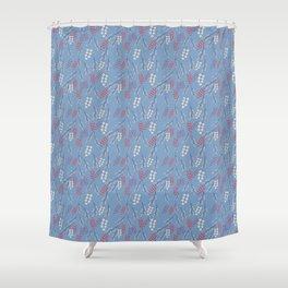 Dakota Prairies: Chokecherry Shower Curtain