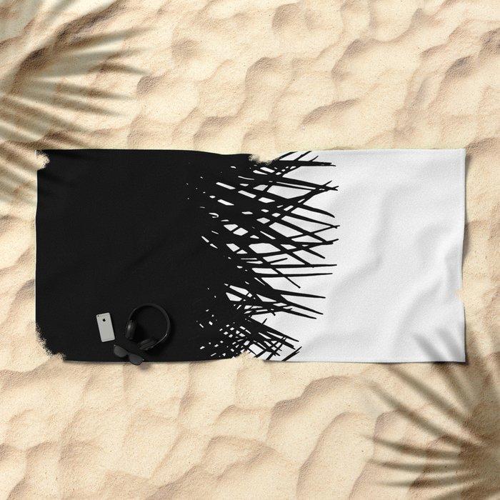 Side Fringe Beach Towel