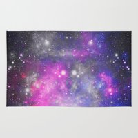 universe Area & Throw Rugs featuring Universe by haroulita