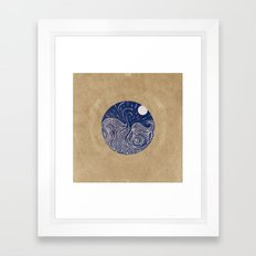 Comes and Goes  Framed Art Print