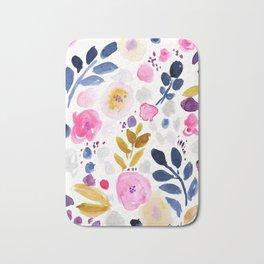 Pink Affair Floral Bath Mat