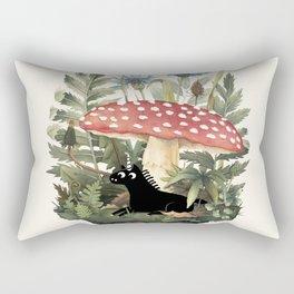 Tiny Unicorn Rectangular Pillow