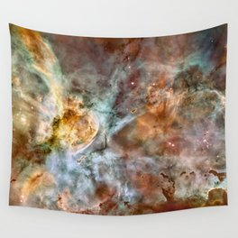 Carina Nebula, Star Birth in the Extreme - High Quality Image Wall Tapestry