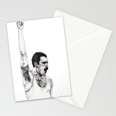 We Will Rock You Stationery Cards