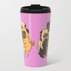 Pugs Group Hug Travel Mug